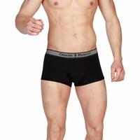 Herren Boxershorts 3er Pack - schwarz