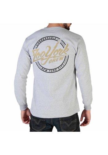 Zoo York T-shirt manches longues pour homme RYMLT138 - gris