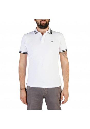 Emporio Armani Polo homme 3Z1F69 - blanc