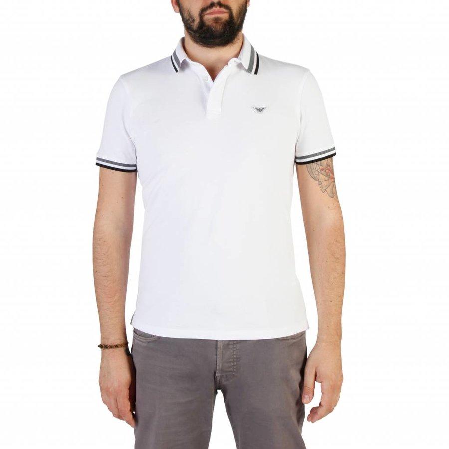 Herren Polo 3Z1F69 - weiß
