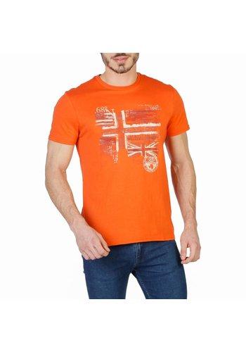 Napapijri Heren T-shirt N0YHCX - orange