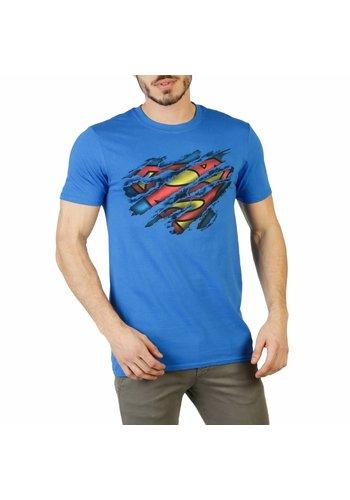 DC Comics Herren T-Shirt - blau