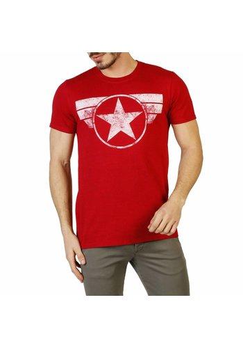 Marvel Heren T-shirt - rood