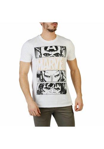 Marvel Heren T-shirt - wit