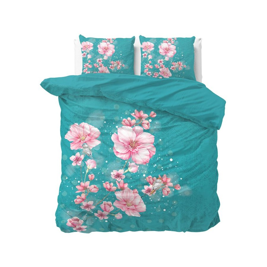 Cherry Blossom 2 Turquoise