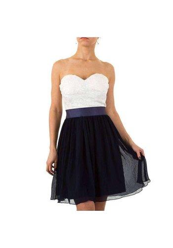Neckermann Dames jurk  - feestelijk -  blauw