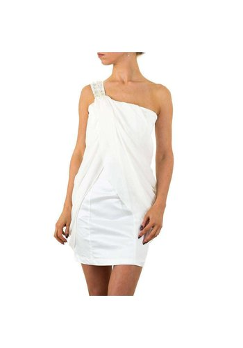 Neckermann Damen Kleid von Cotton Club - white