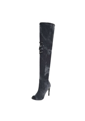 Neckermann Damen Overknee-Stiefel - black