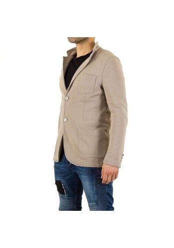 Neckermann Heren blazer van Uniplay - beige