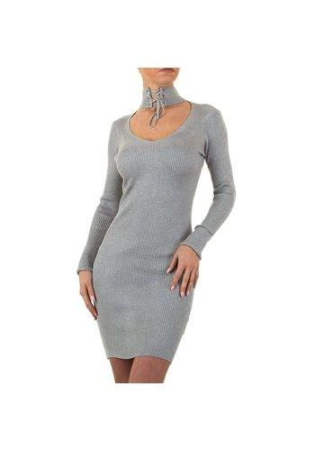 EMMA&ASHLEY Dames jurk van Emma&Ashley - 1 maat - grijs