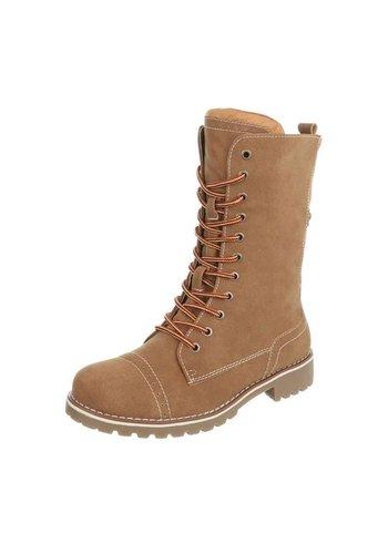 Neckermann Hoge Kinder Boots - camel