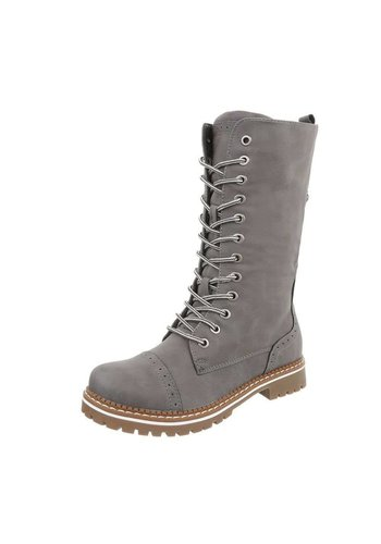Neckermann Damen Schn%FCrstiefeletten - grey