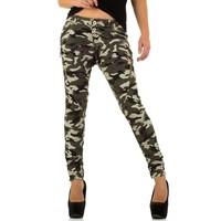 Damen Jeans von Newplay - camouflage