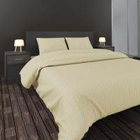 Nightlife Dekbedovertrek Satijn Hotel linnen - Ecru - 2-persoons (200x200/220 cm)