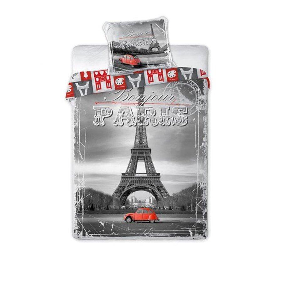 Dekbedovertrek Bonjour Paris