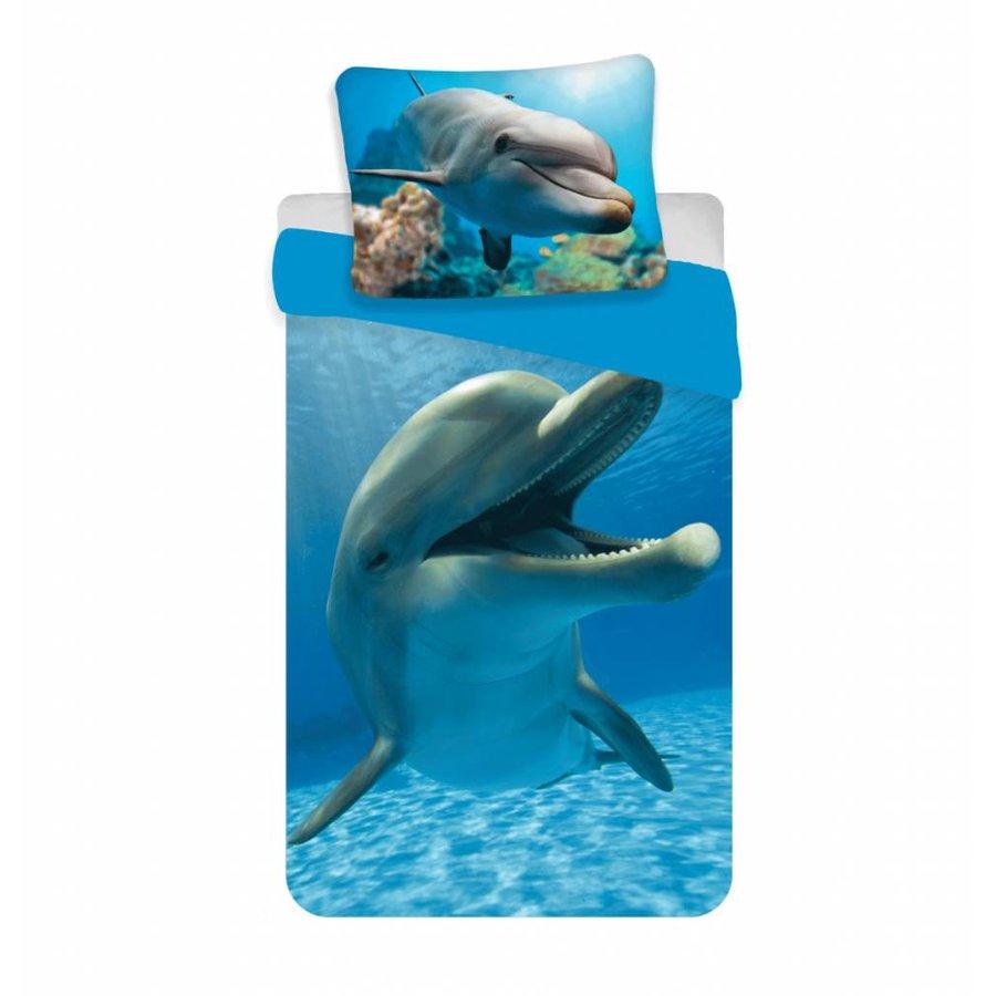 Dekbedovertrek Animal Pictures Dolfijn 140 x 200
