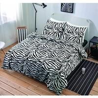 Dekbedovertrek Zebra Maat: 1-persoons (140 x 220 cm + 1 kussensloop)