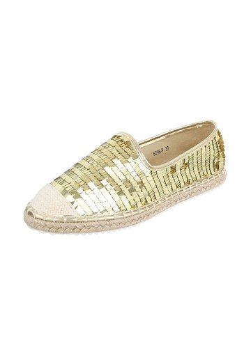 Neckermann Damen Espadrilles - Gold