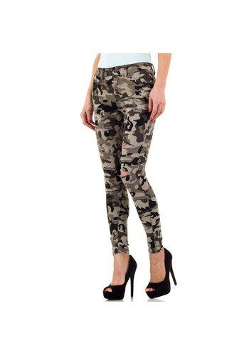 Neckermann Damen Jeans von Daysie Jeans  - camouflage