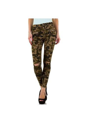 Neckermann Damen Jeans von Daysie Jeans  - coffeecamouflage