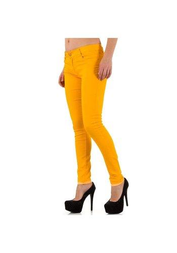 Neckermann Jeans pour femmes par Ds Fashion - jaune