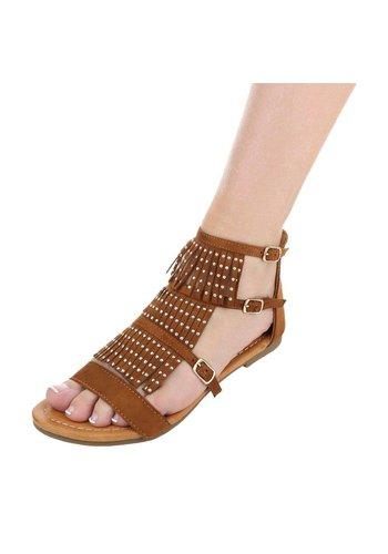 Neckermann Dames sandalen - Camel