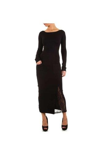 MOEWY Dames jurk van Moewy- 1 maat - zwart