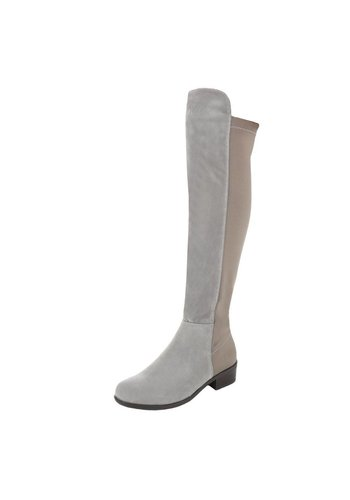 Neckermann Damen Overknee Stiefel - grey