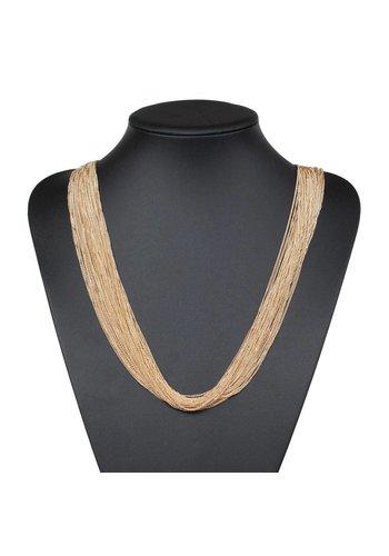 Neckermann Damenhalskette - Gold
