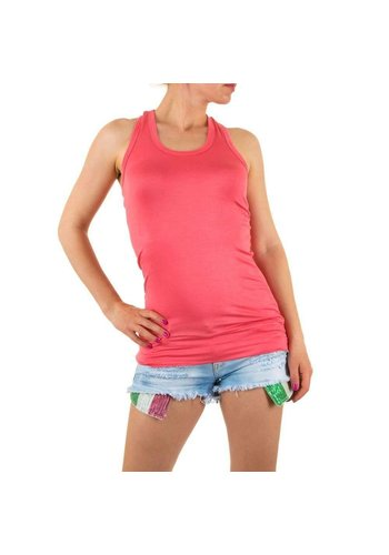 Neckermann Damen Top Gr. one size - coral