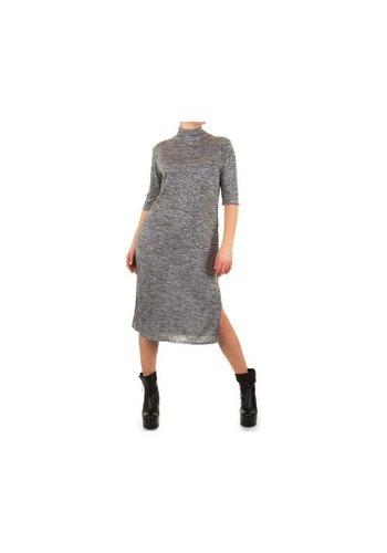 SHK MODE Dames Jurk door Shk Mode One Size  - grijs