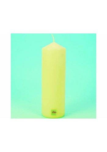 Eika EIKA Bougie de souche ou de pilier 21.5cm (H) x6cm (DM), Champagne