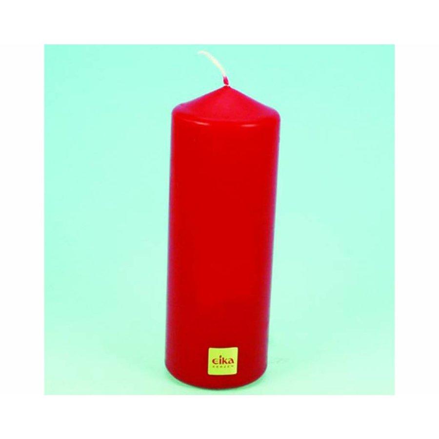 EIKA Stumpenkerze 16,5cm (H) x6cm (DM), rot