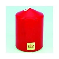 Bougie de pilier EIKA 8,5cm (H) x6cm (DM), rouge