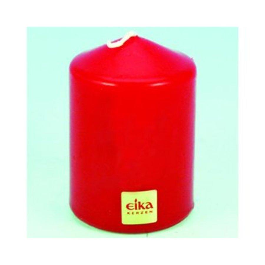 EIKA Stumpenkerze 8,5cm (H) x6cm (DM), rot