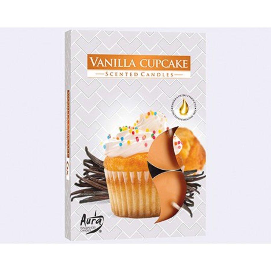 Tealight parfumé 6er vanille cookies, parfum