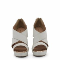 Öffnen Sie High Heel Blu Byblos dünne Designer-Modell