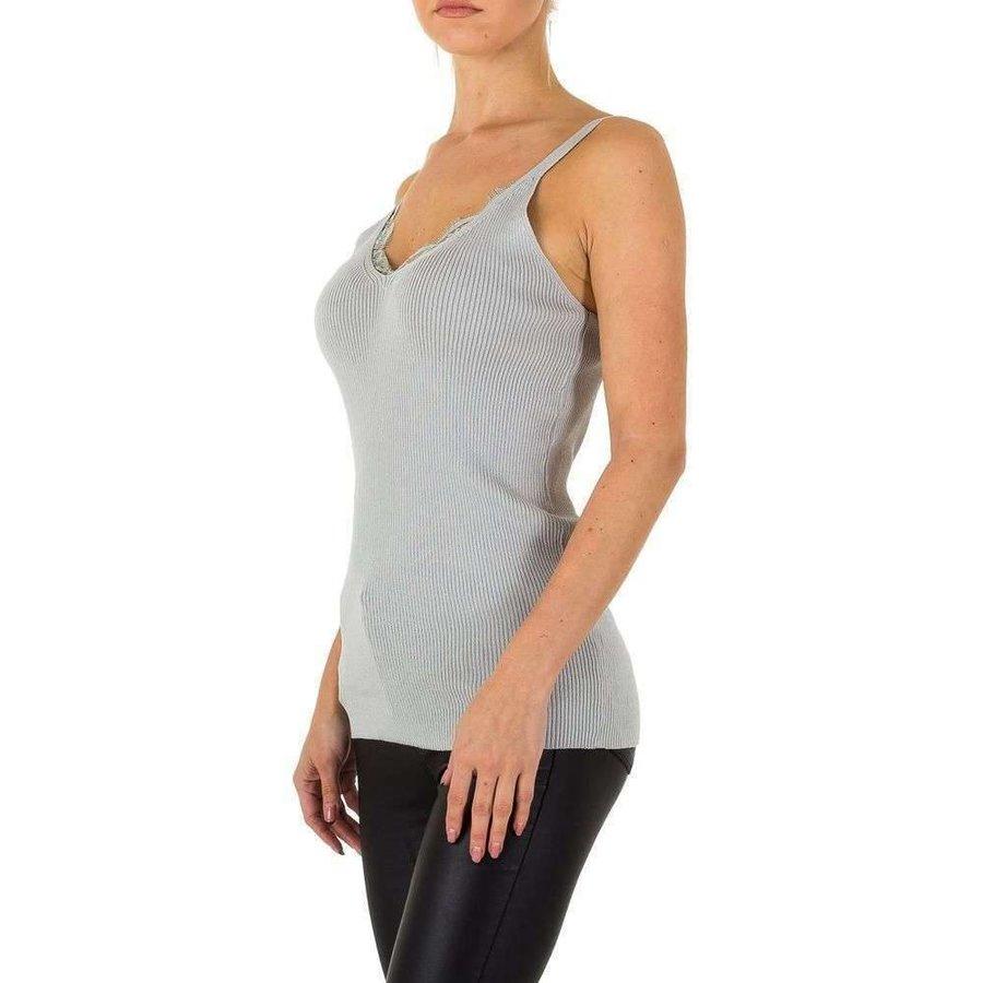 Haut pour femmes par Emma et Ashley Gr. taille unique - gris