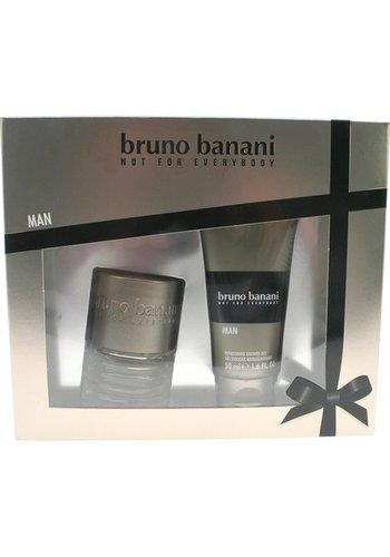 Bruno Banani Geschenkset voor mannen - eau de toilette 30 ml + douchegel 50 ml