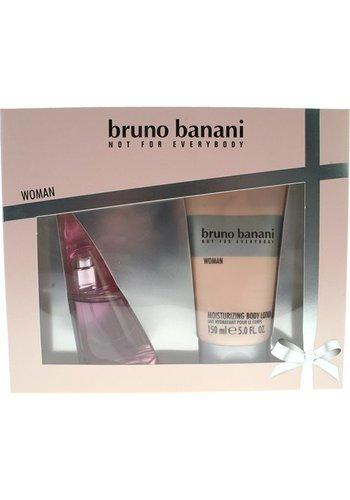Bruno Banani Geschenkset voor vrouwen - Eau de toilette 40 ml + bodylotion 150 ml