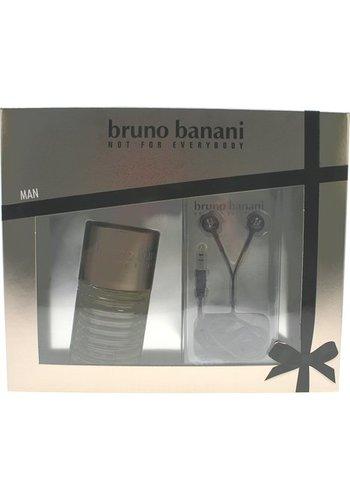 Bruno Banani Geschenkset - EDT 50 ml + koptelefoon