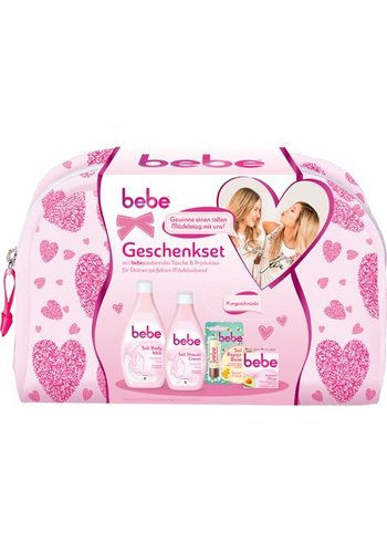 Bebe Body Milk 400ml+Shower Cream 250ml+3in1