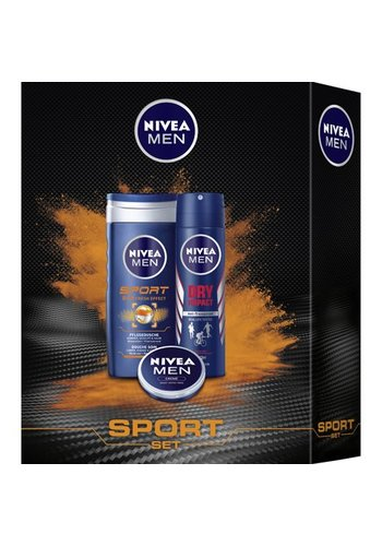 """Nivea Nivea Geschenkset Sport Set"""" Deodorant 150ml + Douche 250ml"""
