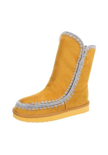 Neckermann Hoge Kinder Boots - geel