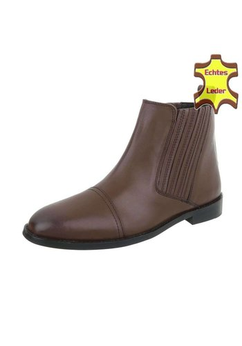Neckermann Leder Herren Stiefeletten - brown