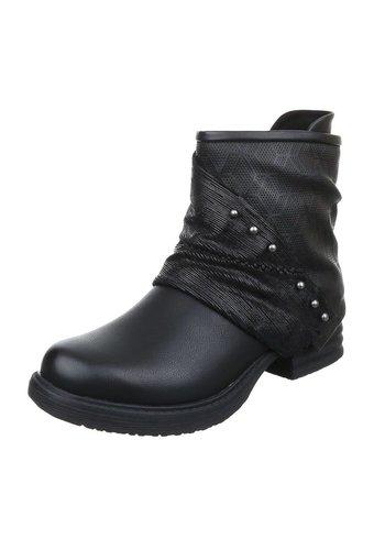 JULIET Damen Stiefeletten - black