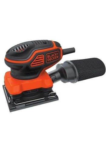 Black + Decker Vlakschuurmachine - 220W - KA450-QS