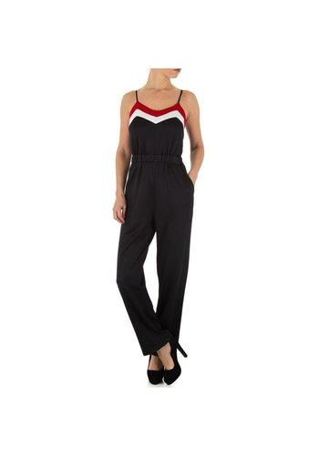 Neckermann Dames Jumpsuit - zwart