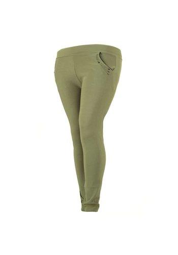 HOLALA Pantalon Femme - vert