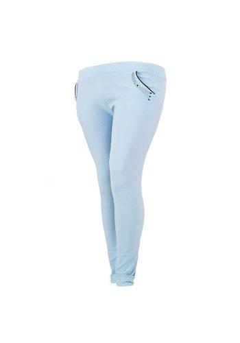 HOLALA Pantalon femme Holala - bleu